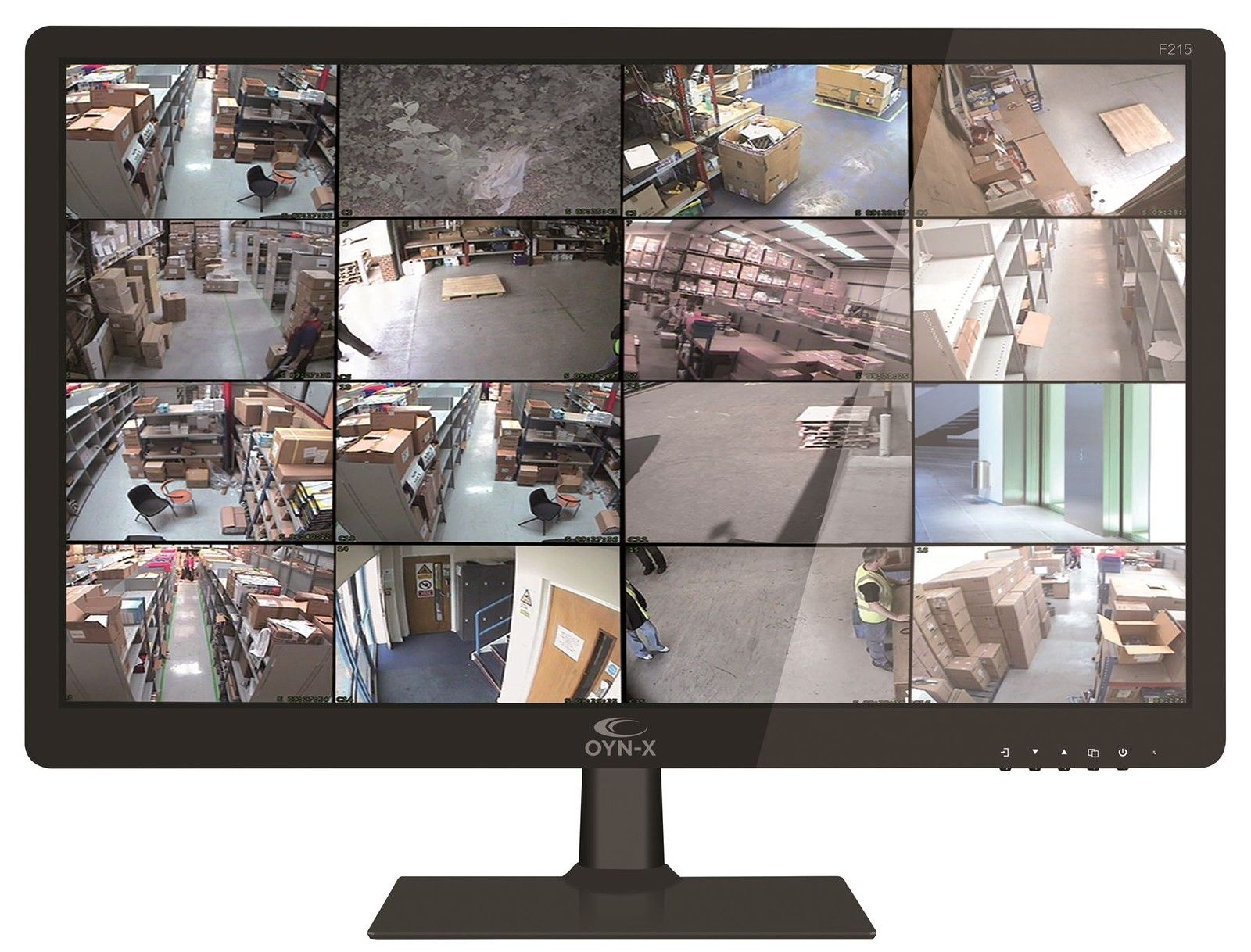 "OYN-X CCTV Security Monitor 21"" TFT LED HDMI BNC VGA Inputs & 16:9 Screen 1080P"