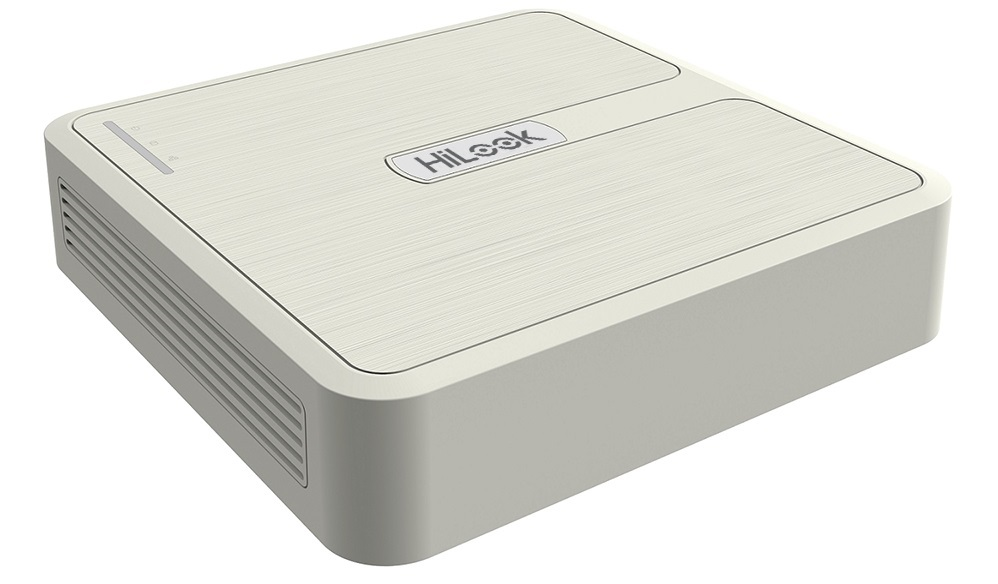 HiLook by Hikvision 4 Channel Turbo HD 2MP 1080P TVI/AHD/CVI/CVBS CCTV Video Recorder DVR - White NO HDD