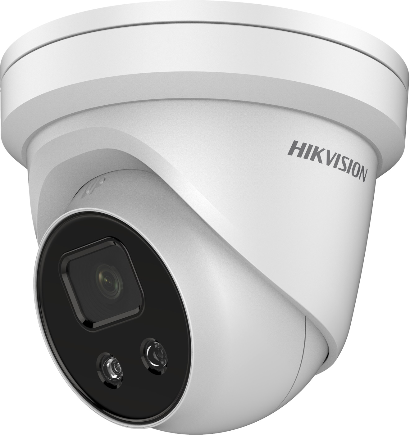 Hikvision AcuSense 4MP fixed lens Darkfighter turret camera with IR