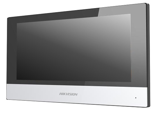 "HIKVISION DS-KH6320-WTE1 video intercom indoor station with 7"" touch screen"