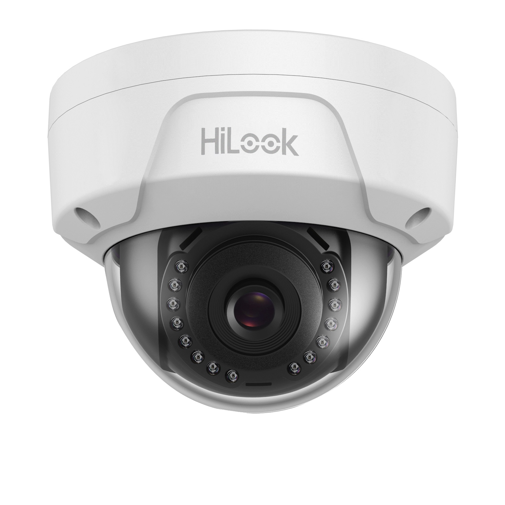HiLook By Hikvision IPC-D140H-M 4mm Lens 4MP IP PoE Dome Network Camera Vandal Proof With 30m Night Vision - White