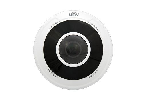 Uniview IPC814SR-DVPF16 4MP Fisheye Fixed Dome Network Camera