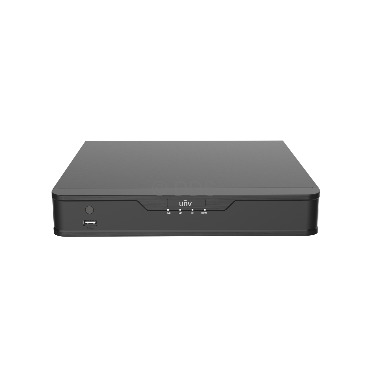 Uniview NVR301-04-P4 network video recorder Black