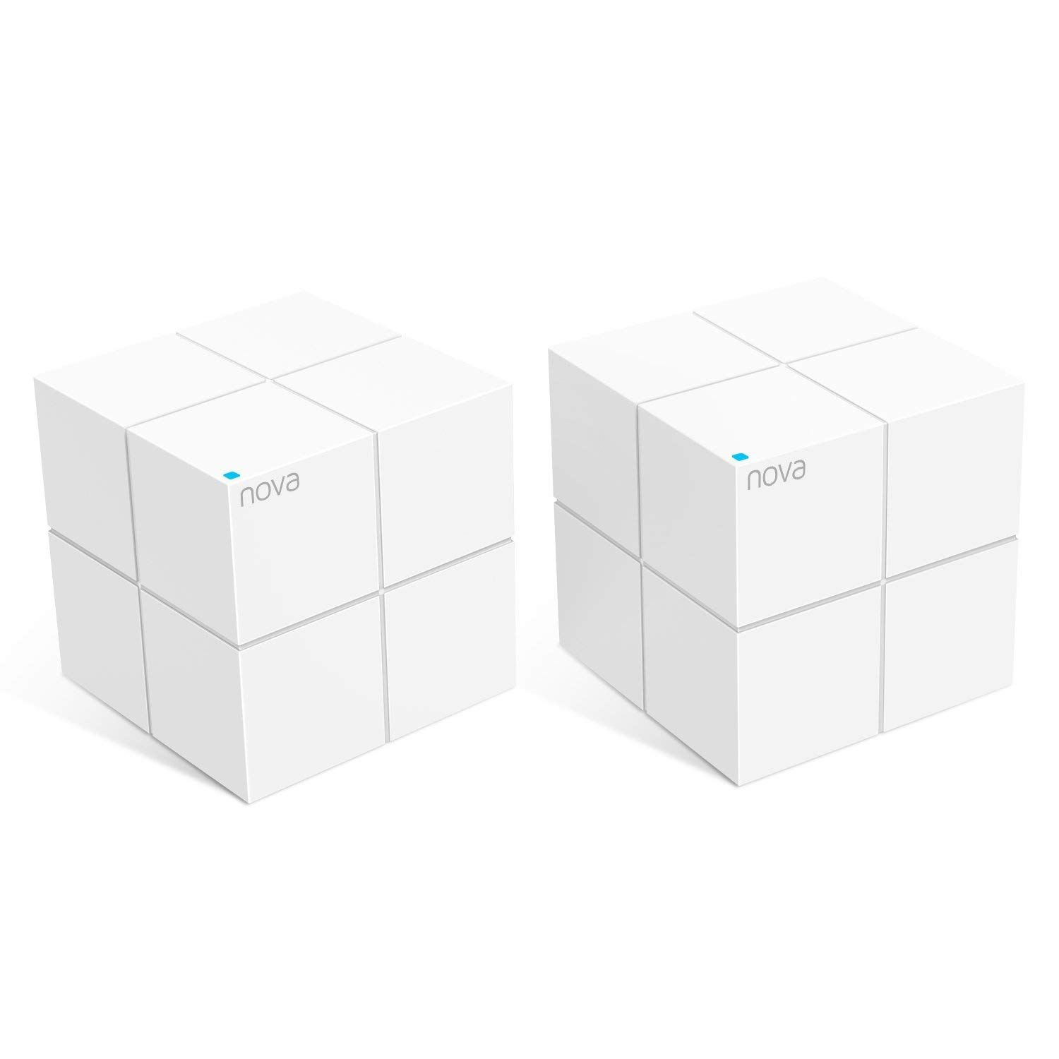 Tenda MW6 Nova AC1200 Whole Home Wi-Fi Mesh System Pack of 2