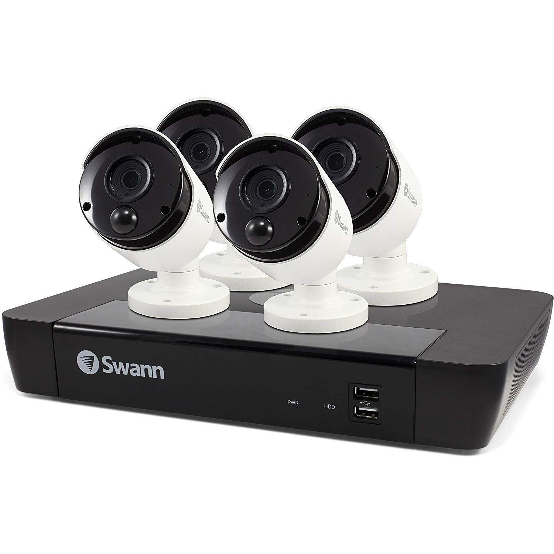 Swann NVR-8580 8 Channel 5MP Super HD NVR & 4 x 5MP Bullet Cameras 2TB HDD KIT