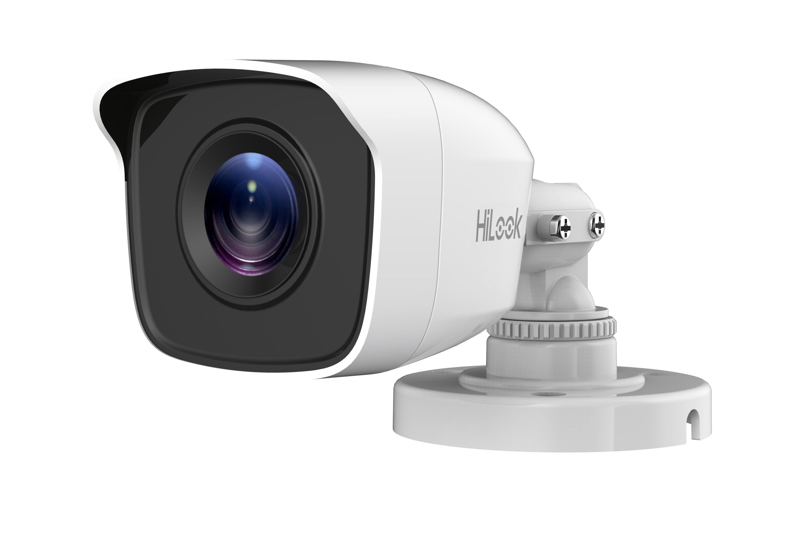 HiLook by Hikvision THC-B140-M 3.6mm 4mp EXIR 4-IN-1 Bullet CCTV Camera 20m IR IP66 Metal Body -White