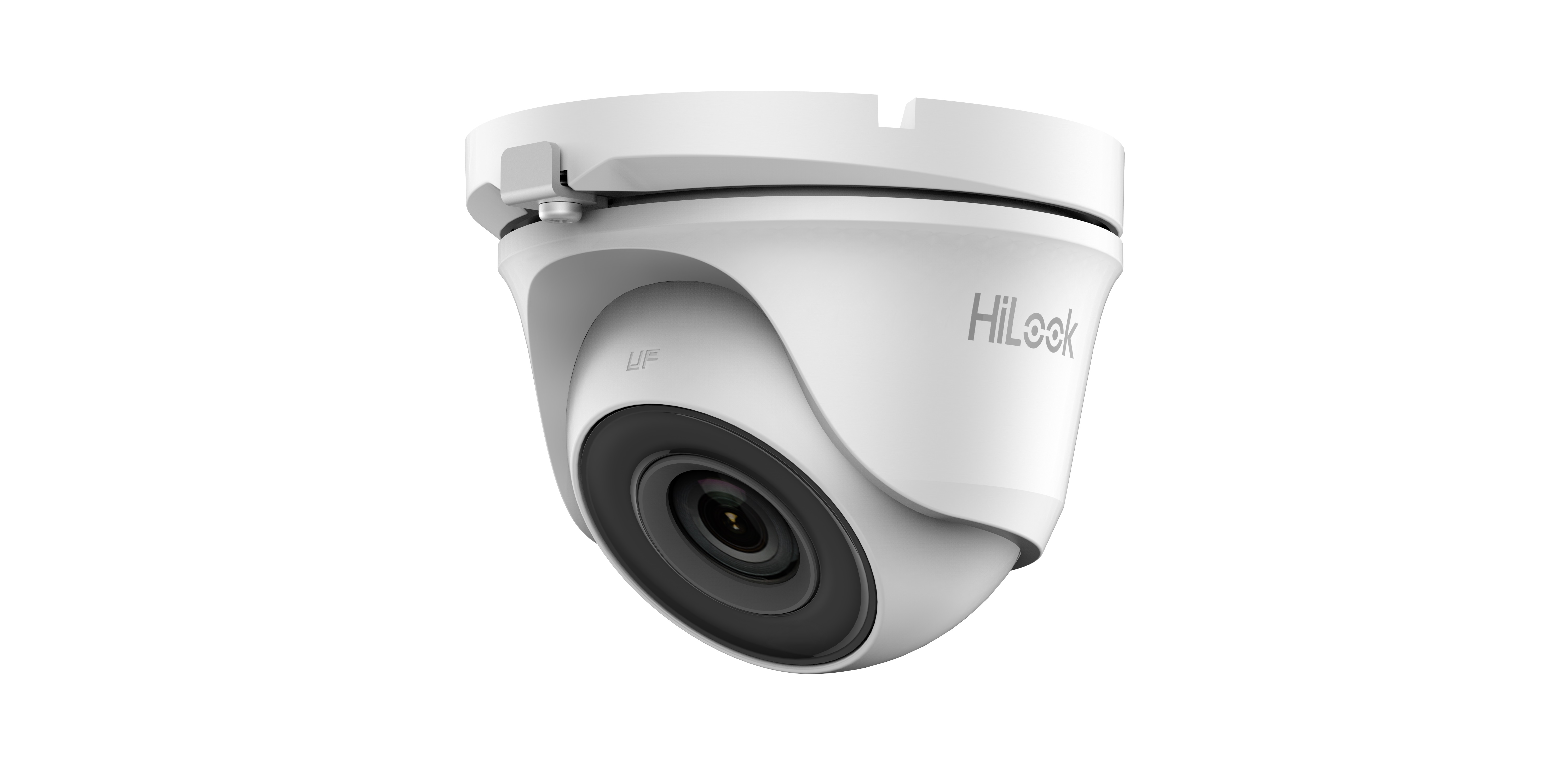 HiLook by Hikvision THC-T123-M 2.8mm 2mp HD EXIR Ultra Low Light 4-IN-1 Indoor/Outdoor CCTV Camera IP66 Metal Body – White