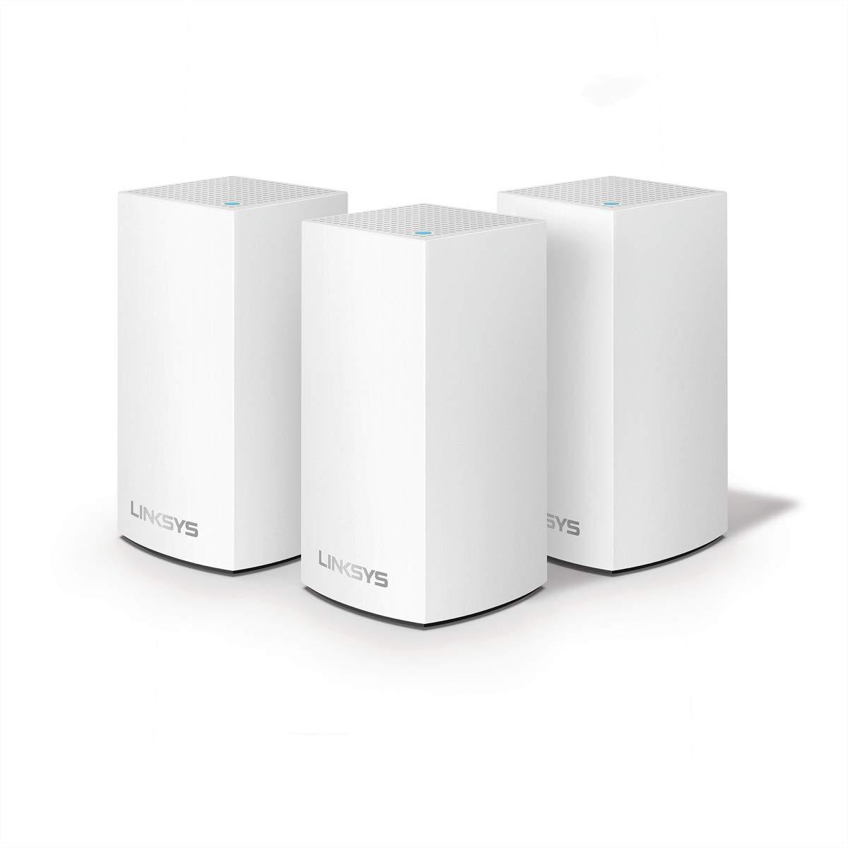Linksys VLP0103-UK AC3600 Velop Whole Home Mesh WiFi System Dual-Band 3-Pack