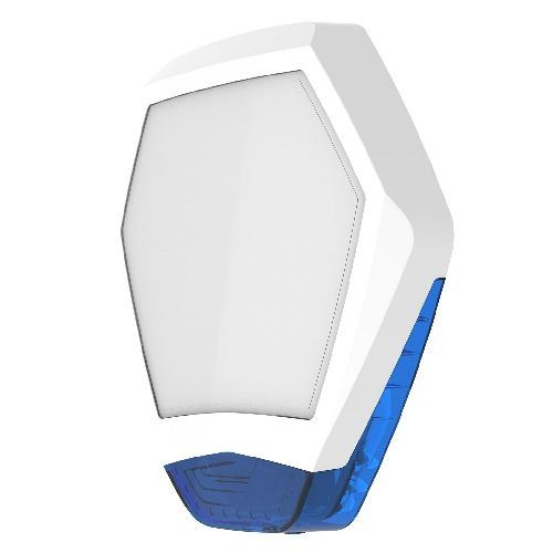 Texecom WDB-0001 Odyssey X3 Octagonal Front Cover for Odyssey X3 White / Blue